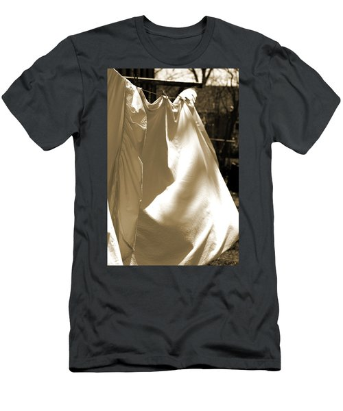 Sheets On The Line Men's T-Shirt (Athletic Fit)