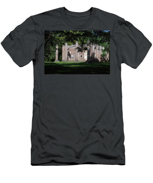 Sheldon Church 7 Men's T-Shirt (Slim Fit) by Gordon Mooneyhan