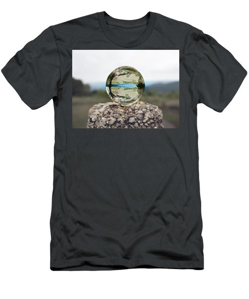 Men's T-Shirt (Athletic Fit) featuring the photograph Shenandoah by Sue Collura