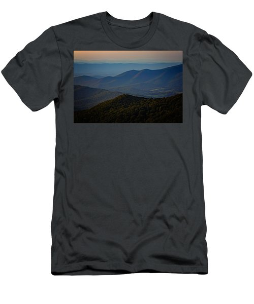Shenandoah Valley At Sunset Men's T-Shirt (Athletic Fit)