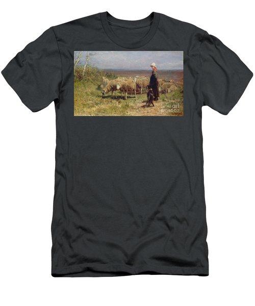 Shepherdess Men's T-Shirt (Athletic Fit)