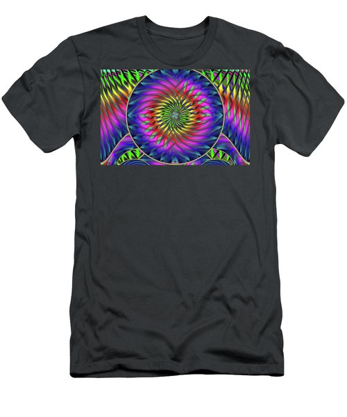 She's Like A Rainbow Men's T-Shirt (Athletic Fit)
