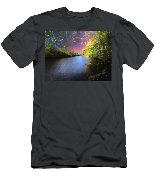 Shetucket River Ct. Men's T-Shirt (Athletic Fit)