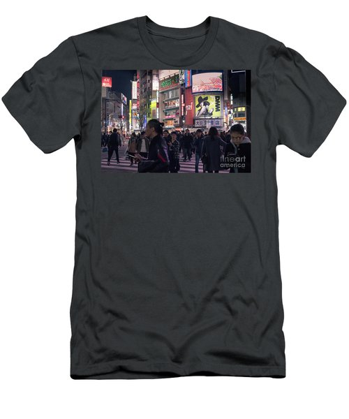 Shibuya Crossing, Tokyo Japan 3 Men's T-Shirt (Athletic Fit)