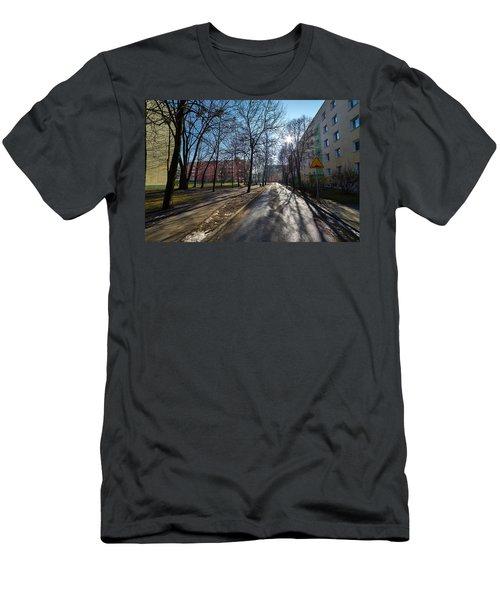 Shift Men's T-Shirt (Slim Fit) by Tgchan