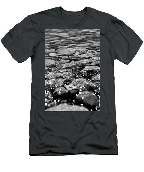 Shimmering Waters In Spring Men's T-Shirt (Athletic Fit)