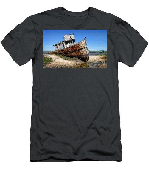 Men's T-Shirt (Slim Fit) featuring the digital art Shipwreck by Jason Abando