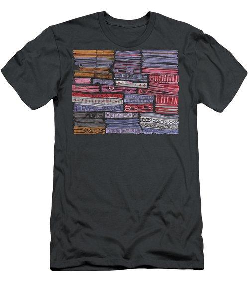 Shipwreck Men's T-Shirt (Slim Fit) by Sandra Church