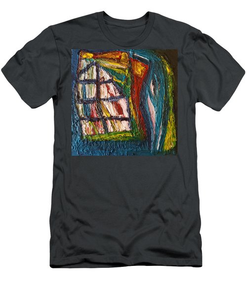 Shipwrecked Men's T-Shirt (Slim Fit) by Darrell Black