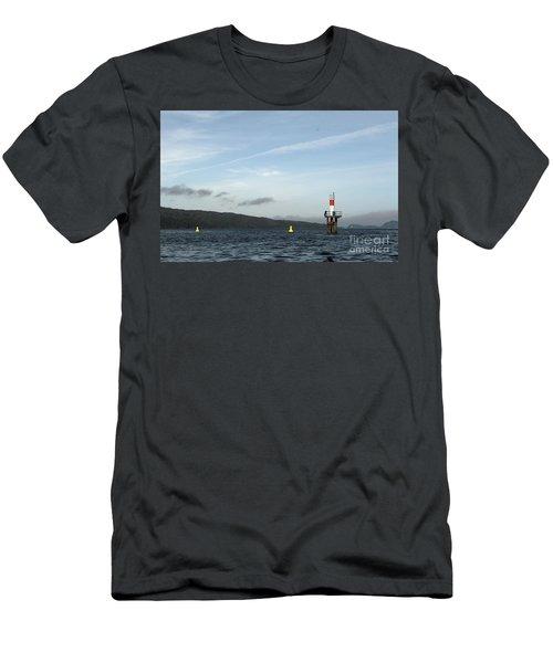 Shoal Marker Men's T-Shirt (Athletic Fit)