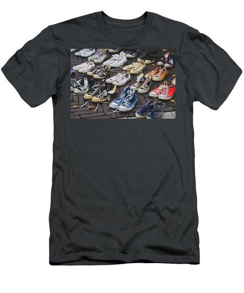Shoes At A Flea Market Men's T-Shirt (Athletic Fit)