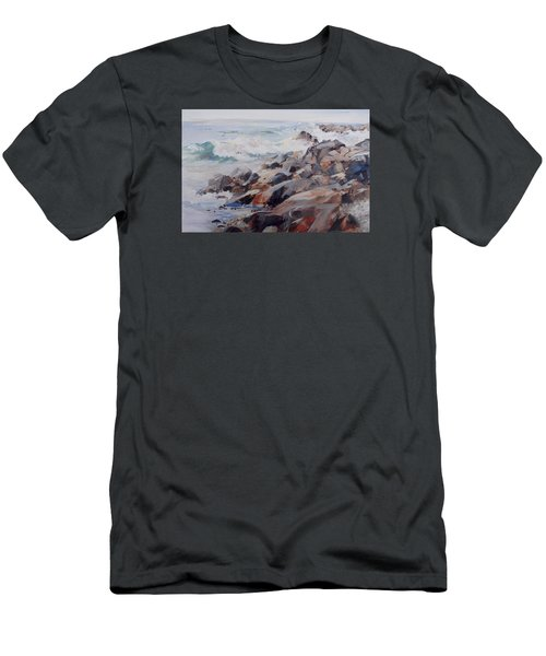 Shore's Rocky Men's T-Shirt (Slim Fit) by P Anthony Visco