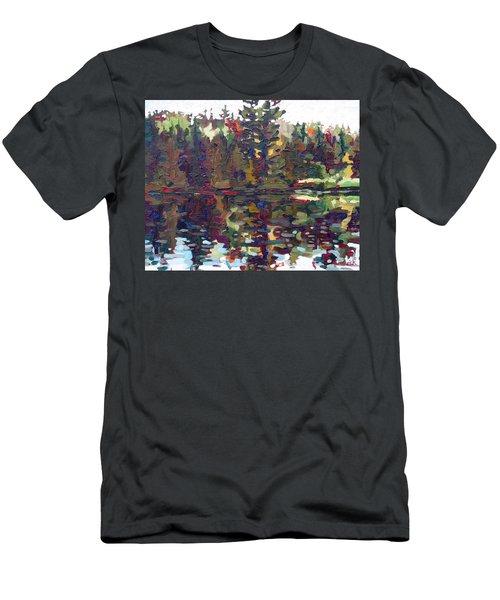 Shore Sunrise Men's T-Shirt (Athletic Fit)