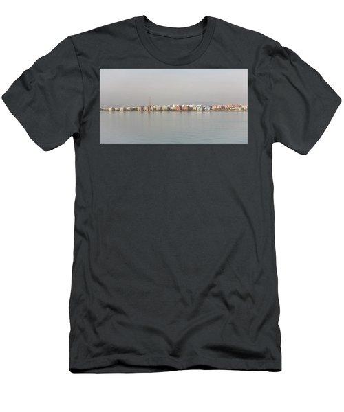 Shoreline Reflections Men's T-Shirt (Athletic Fit)