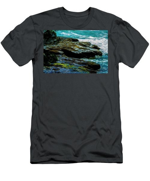 Shoreline  Men's T-Shirt (Athletic Fit)