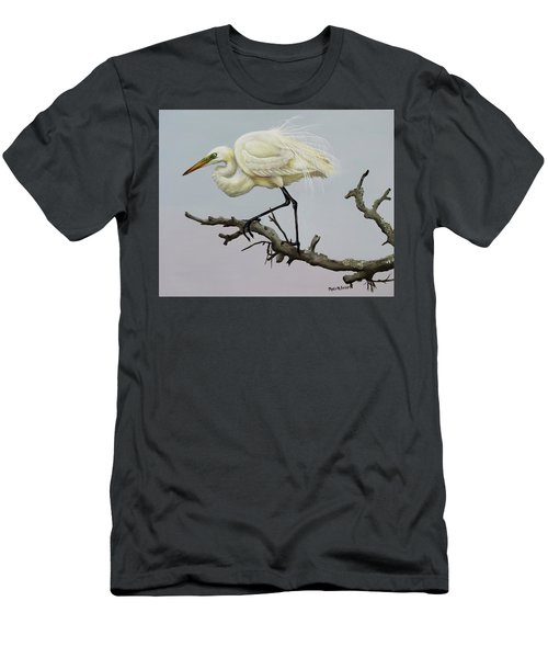 Show Off Men's T-Shirt (Slim Fit) by Phyllis Beiser