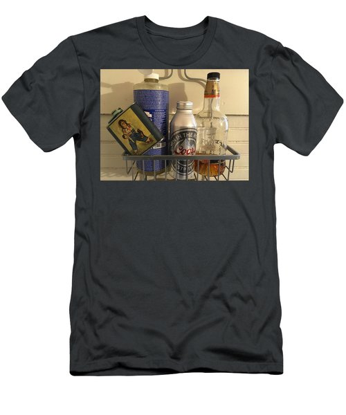 Shower Caddy 2 Men's T-Shirt (Slim Fit) by Josh Williams
