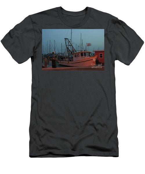 Shrimp Boat Men's T-Shirt (Athletic Fit)