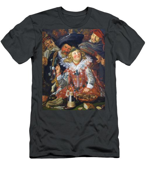 Shrovetide Revellers The Merry Company Men's T-Shirt (Athletic Fit)