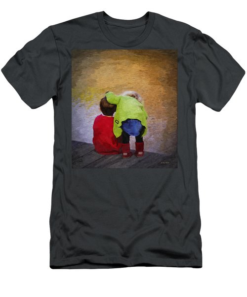 Sibling Love Men's T-Shirt (Slim Fit) by Brian Wallace