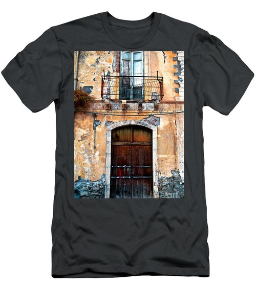 Sicilian Facade Men's T-Shirt (Athletic Fit)
