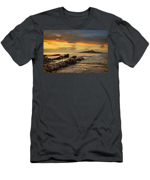 Sicilian Sunset Isola Delle Femmine Men's T-Shirt (Athletic Fit)