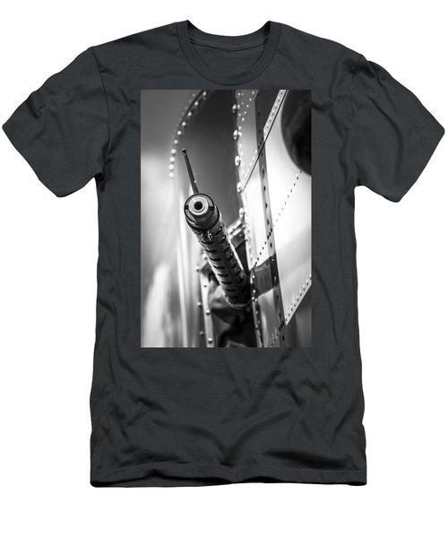 Side Gunner B-25 Men's T-Shirt (Athletic Fit)