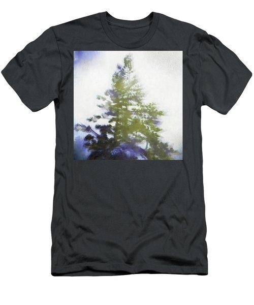 Sierra Book Pines Men's T-Shirt (Athletic Fit)