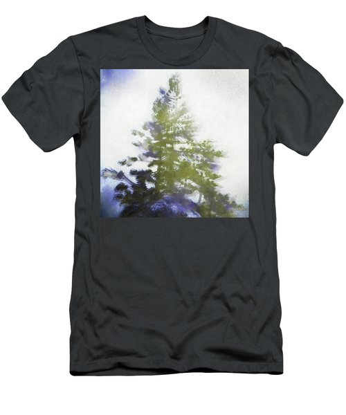 Sierra Book Pines Men's T-Shirt (Athletic Fit)