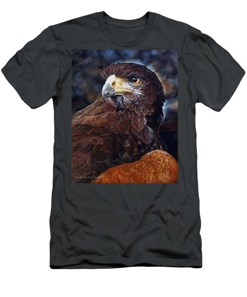 Sig The Harris Hawk Men's T-Shirt (Athletic Fit)