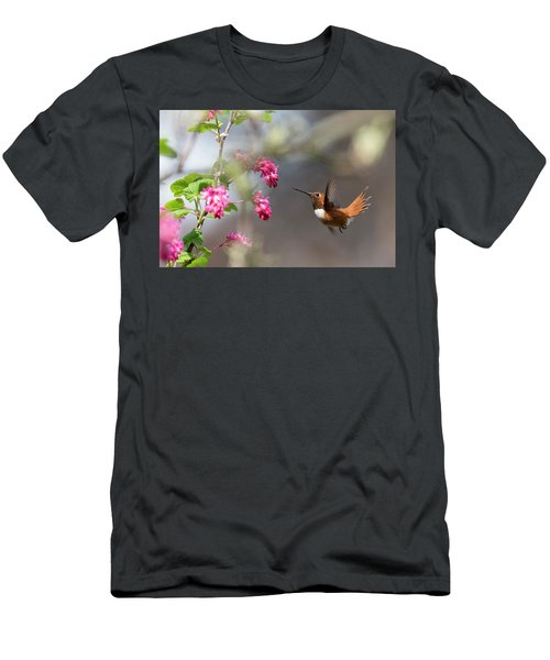 Sign Of Spring 3 Men's T-Shirt (Slim Fit) by Randy Hall