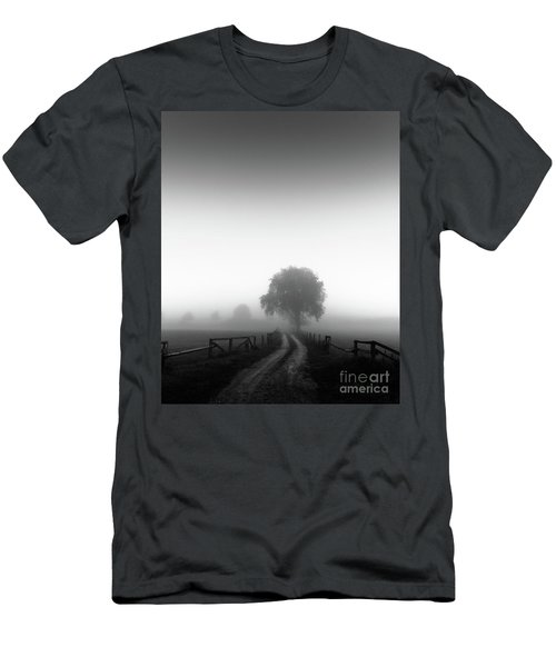 Men's T-Shirt (Slim Fit) featuring the photograph  Silent Morning  by Franziskus Pfleghart