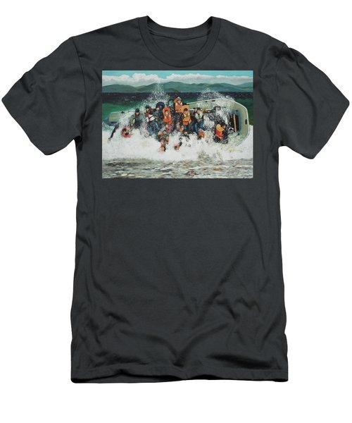 Silent Screams Men's T-Shirt (Athletic Fit)