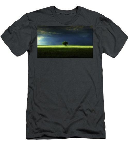 Silent Solitude Men's T-Shirt (Athletic Fit)