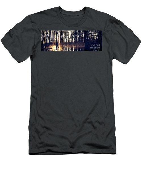 Silent Woods No 4 Men's T-Shirt (Athletic Fit)