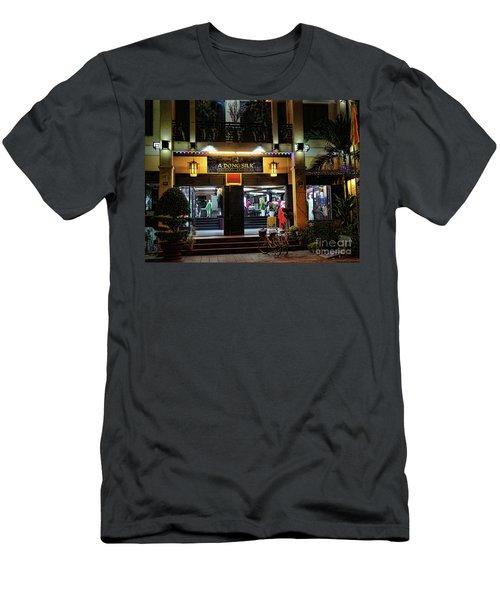 Silk Store Merchant Hoi An Men's T-Shirt (Athletic Fit)