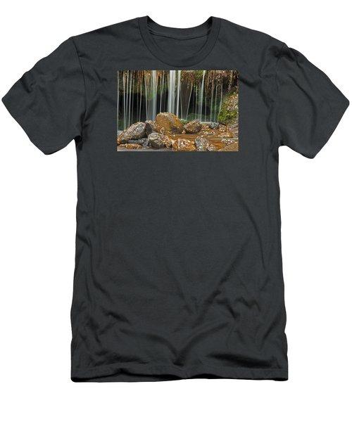 Silky Falls Men's T-Shirt (Athletic Fit)