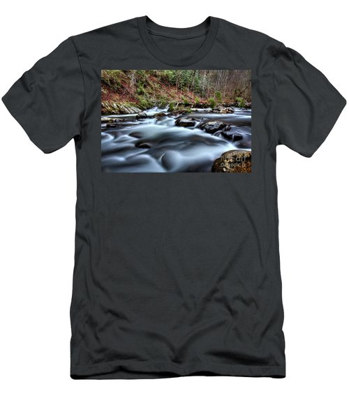 Men's T-Shirt (Slim Fit) featuring the photograph Silky Smooth by Douglas Stucky