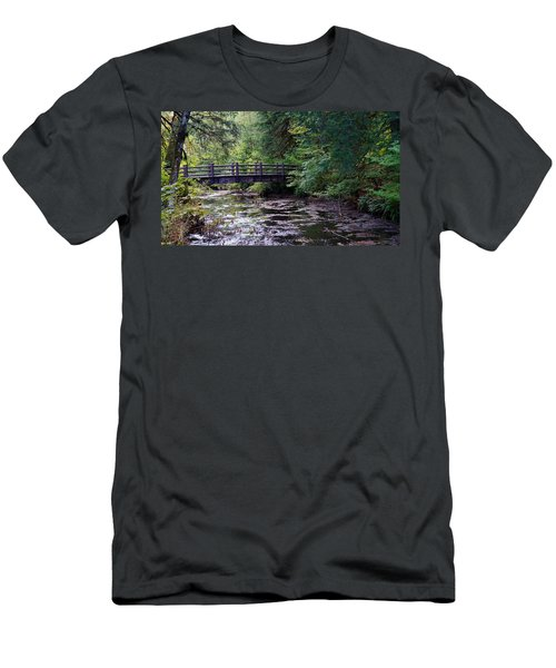 Silver Creek Falls #38 Men's T-Shirt (Athletic Fit)