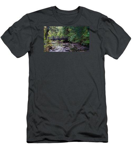 Silver Creek Falls #38 Men's T-Shirt (Athletic Fit)