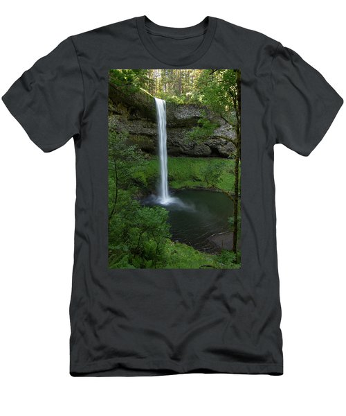 Silver Falls Silver Mist Men's T-Shirt (Athletic Fit)