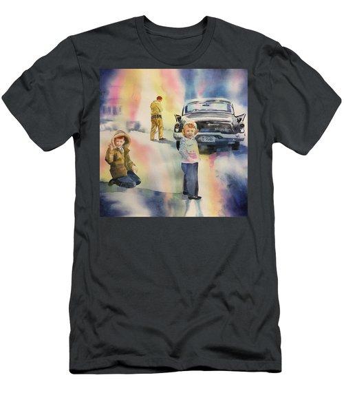 Silver Hawk Men's T-Shirt (Athletic Fit)
