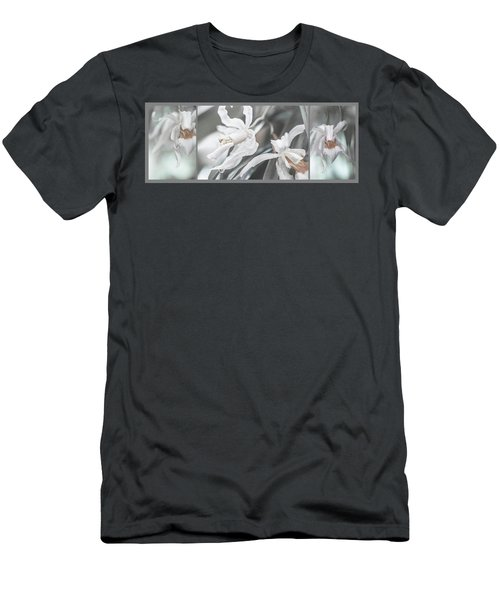 Silver Melody. Triptych Men's T-Shirt (Athletic Fit)