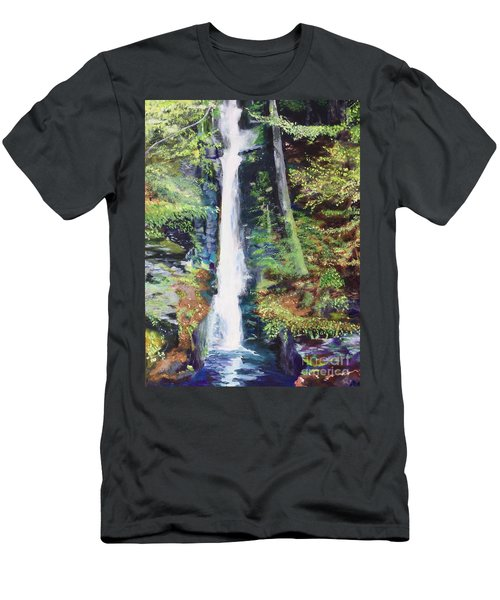 Silver Thread Falls Men's T-Shirt (Athletic Fit)