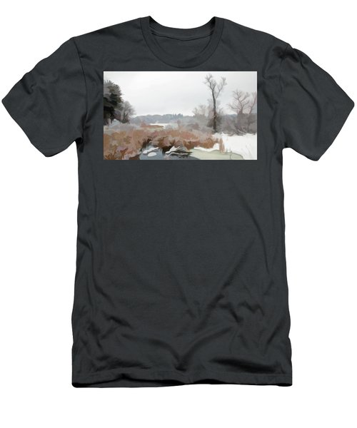 Men's T-Shirt (Athletic Fit) featuring the photograph Simply Soft Winters Glory by Aimee L Maher Photography and Art Visit ALMGallerydotcom