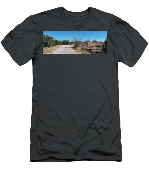 Single Lane Road In The Hill Country Men's T-Shirt (Athletic Fit)