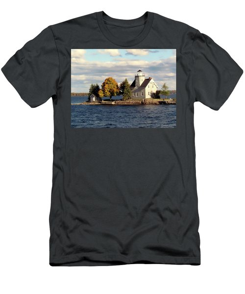 Sister Island Lighthouse Men's T-Shirt (Athletic Fit)