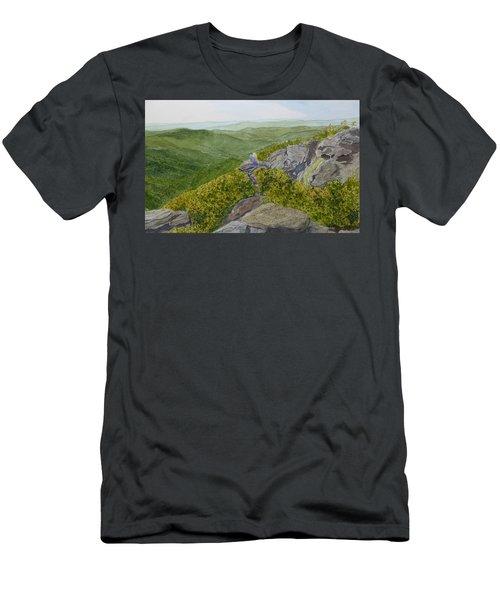 Sitting Pretty  Men's T-Shirt (Athletic Fit)