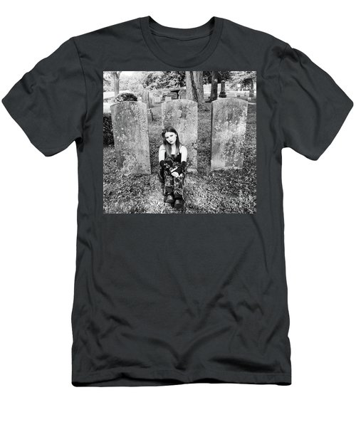 Sitting With The Dead Men's T-Shirt (Athletic Fit)