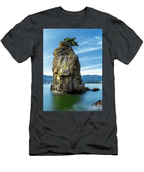 Siwash Rock Men's T-Shirt (Athletic Fit)